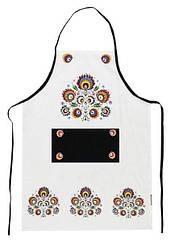 Фартук кухонный 001 Хлопок A. D. Белый