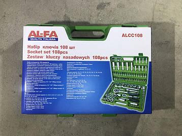 Набір ключів AL-FA 108 шт., фото 2