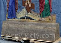 Голгофа для храма. Крест с распятием и предстоящими., фото 8