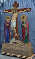 Голгофа для храма. Крест с распятием и предстоящими., фото 9