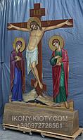 Голгофа для храма. Крест с распятием и предстоящими., фото 10