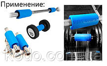 Расширители грифа (2шт.) Синего цвета UForce Grip, фото 3