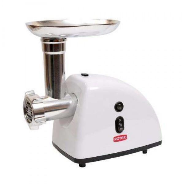 Электромясорубка ROTEX RMG130-W 1300 Вт белая мясорубка кухонная