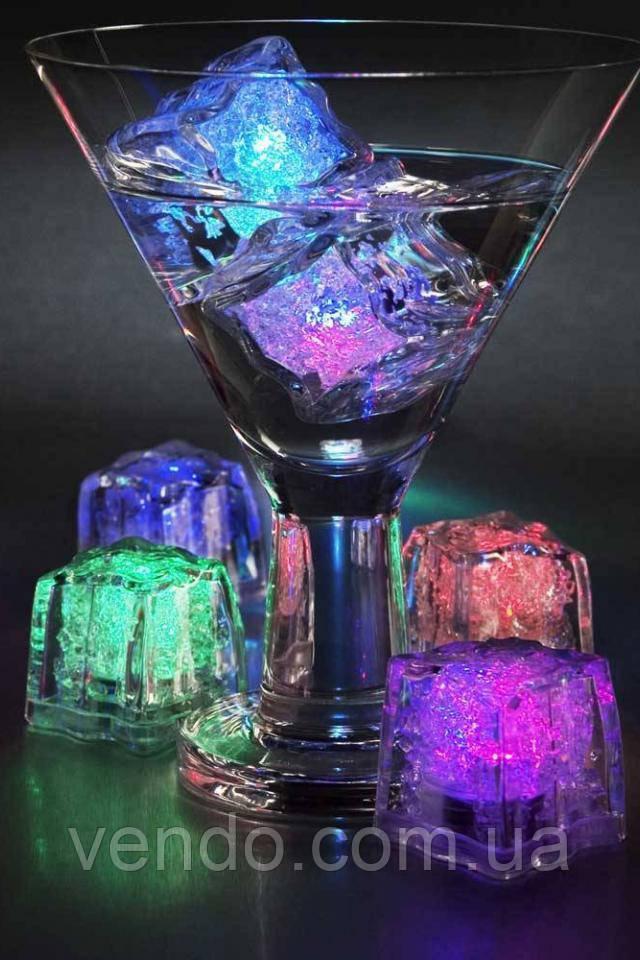 Светящийся лед с цветной подсветкой (подсветка для кальяна, бокала)