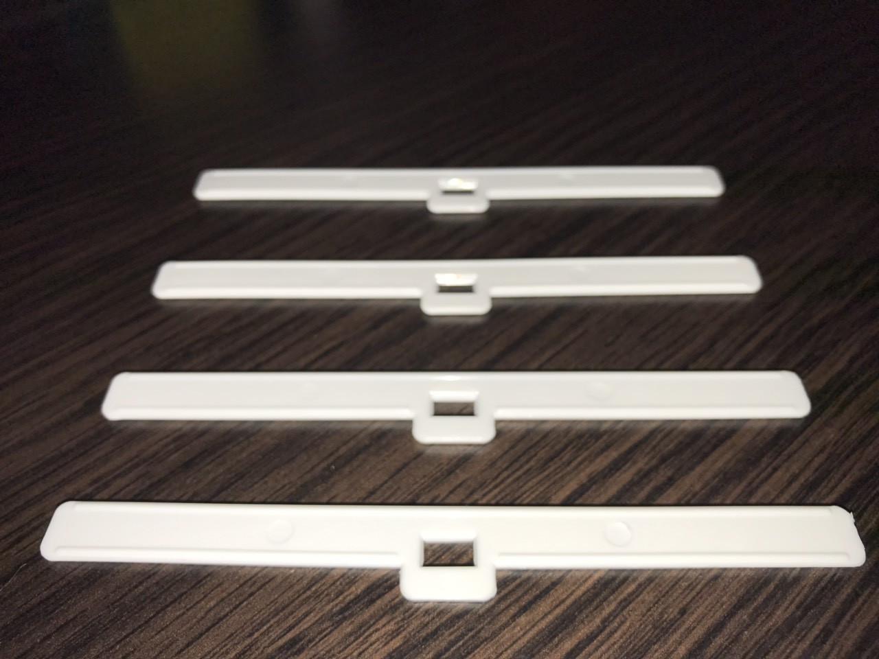 Держатель для ткани 127 мм (белый)