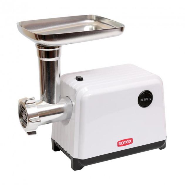 Кухонная электрическая мясорубка ROTEX RMG200-W 2000 Вт функция Реверс белая