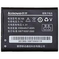 Аккумулятор BL169 (Li-ion 3.7V 2000mAh) для мобильного телефона Lenovo P70