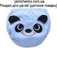 ТРЕНИРОВОЧНЫЕ ТРУСИКИ. Панда с ушками S (размер 80 - 10-12 кг)