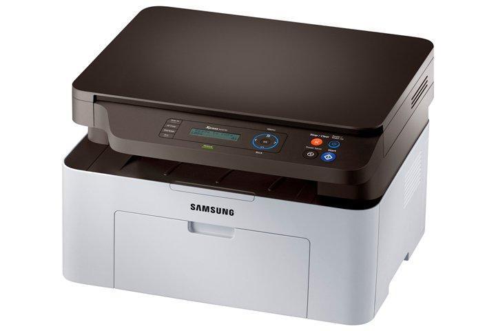 Лазерный МФУ ч/б печати Samsung Xpress SL-M2070W c Wi-Fi