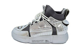 Кроссовки Allshoes 50208 ZL 556125 Silver