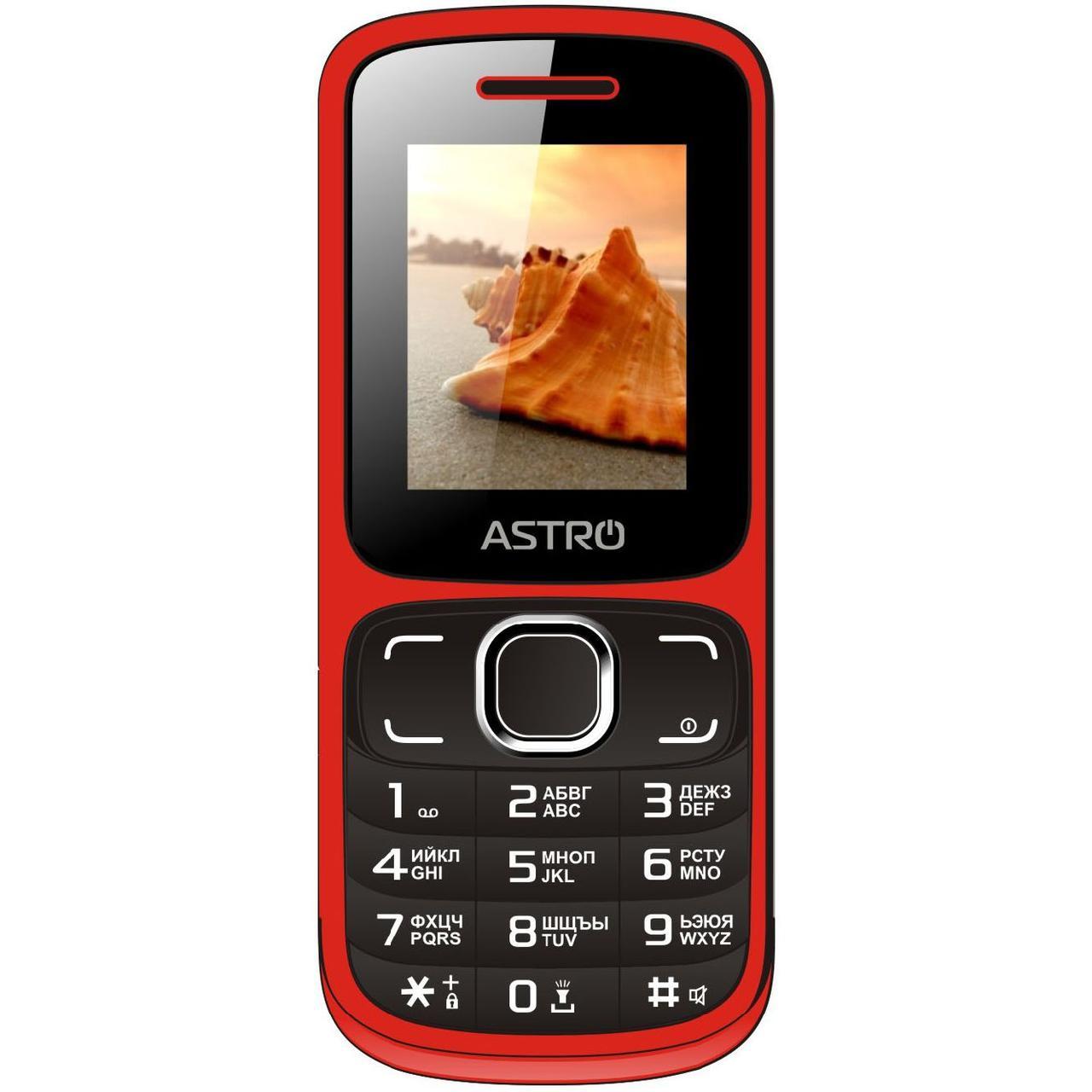 Телефон мобильный кнопочный на 2 сим карты с фонариком Astro A177