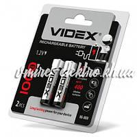 Аккумулятор ААА 1000 mah Videx 2 шт