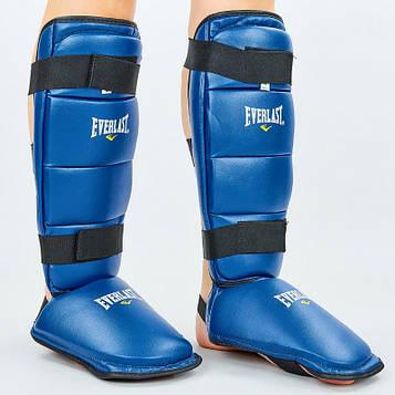 Захист гомілки й стопи PVC ELAST (р-р S-L, синій)