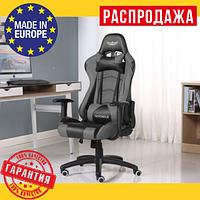 Офисное Компьютерное Геймерское Кресло (Польша) NORDHOLD YMIR Серое