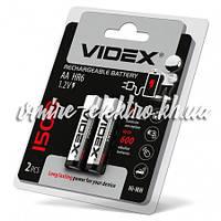 Аккумулятор АА 1500 mah Videx 2 шт