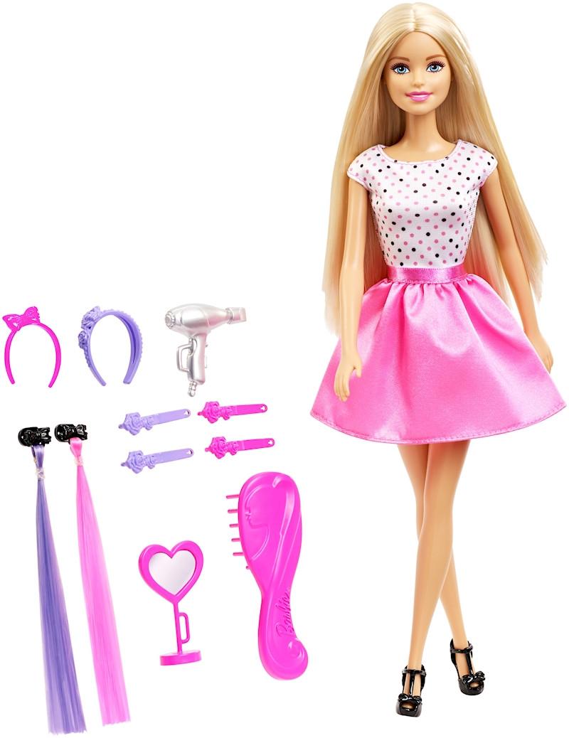 Кукла Барби Стильные волосы