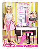 Кукла Барби Стильные волосы, фото 2