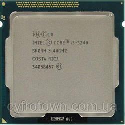 Процесор Intel Core i3-3240 2х3.4GHz/5GT/s/3MB для ПК вживаний робочий