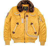 Куртка пилот Alpha Industries Injector MJI38016C1 (Yellow), фото 1