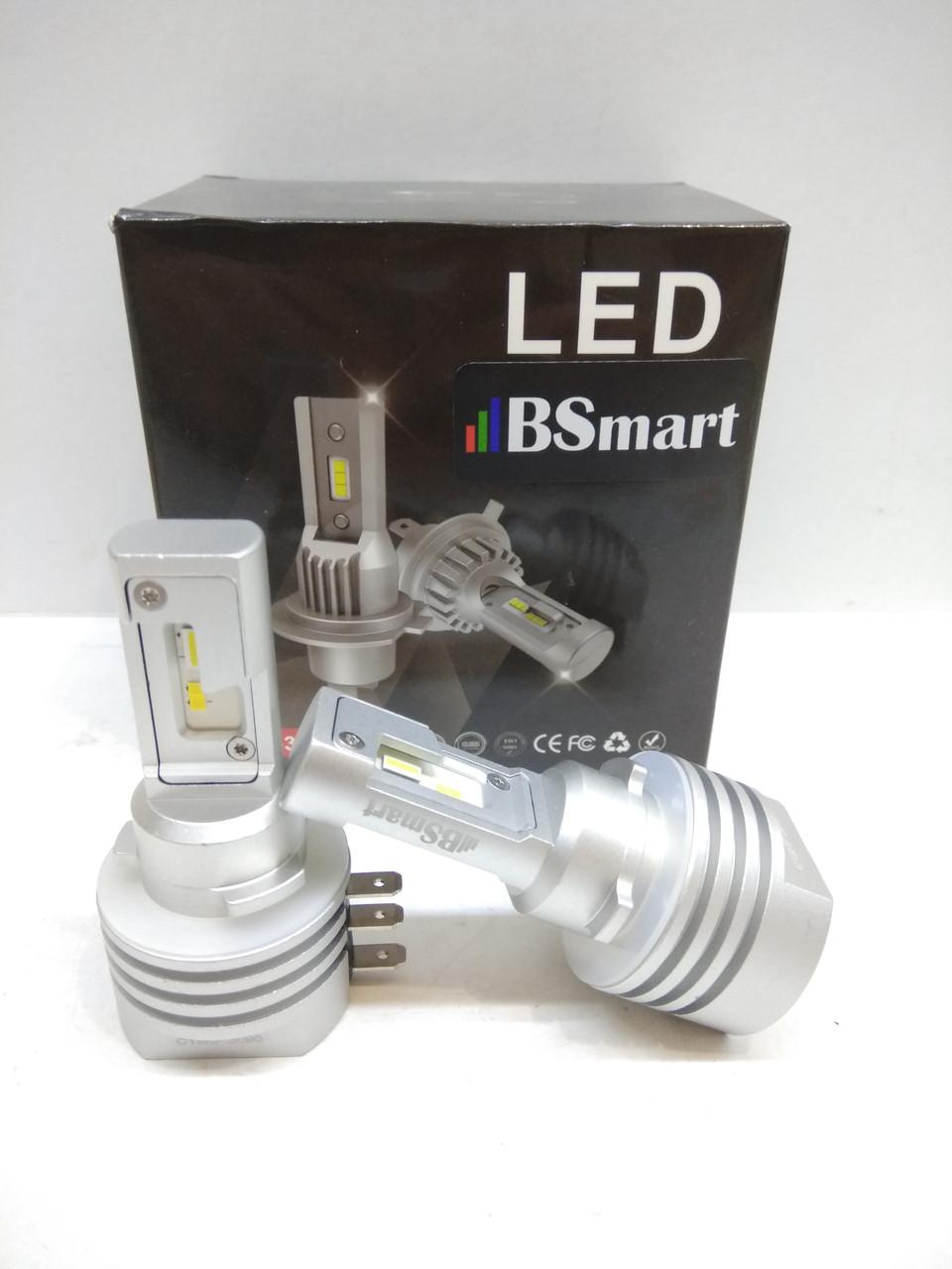 LED автолампи діодні S11P CSP Південна Корея, CANBUS, H15, 8000LM, 30W, 9-32V
