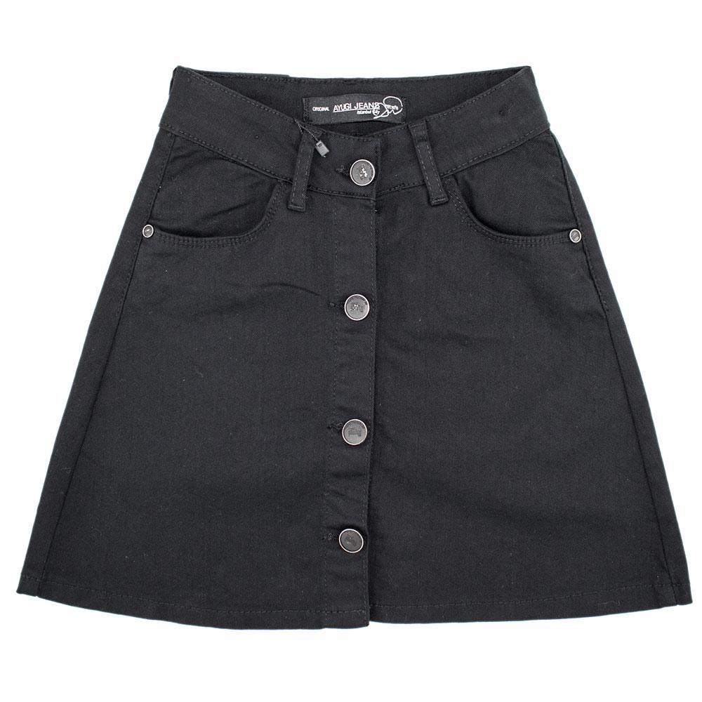 Юбка для девочек A-yugi 140  черный 9146