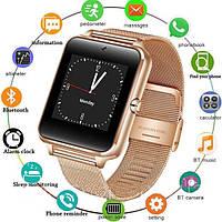 Умные Смарт часы Smart Watch Z60 Turbo Золотистые