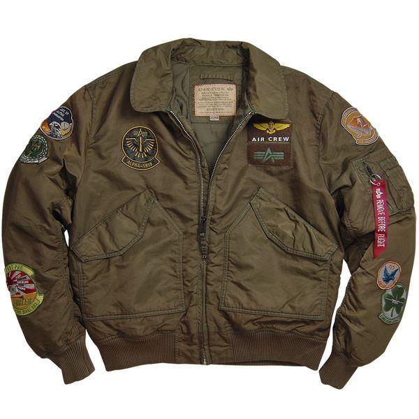 Оригинальная куртка пилот Cwu Pilot X Alpha Industries (коричневая)
