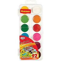 Детские акварельные краски Гамма мультики 12 цветов