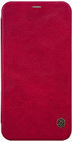 Чехол-книжка Nillkin Qin Leather Case Apple iPhone X/XS Red #I/S