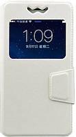 Чехол-книжка TOTO Book Silicone Slide Universal Cover With Window 5.3'-5.5' White #I/S
