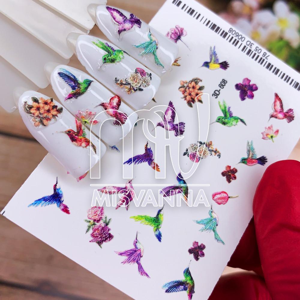 Слайдер дизайн 3D-608 птицы