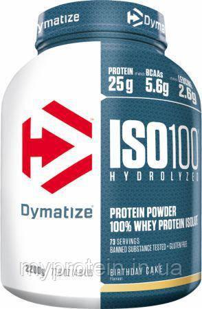 Dymatize Протеин изолят ИЗО 100 ISO 100725 g