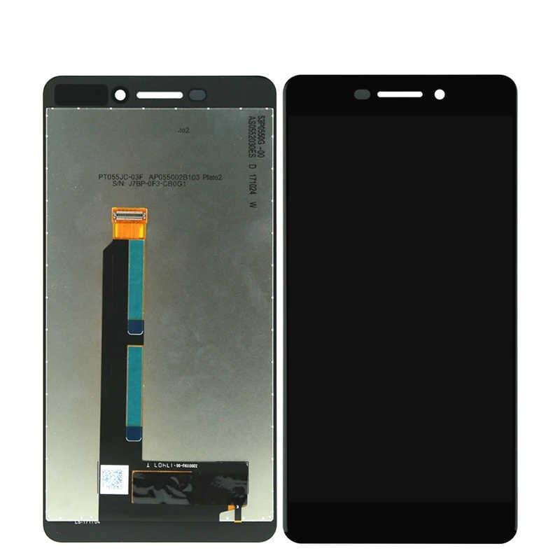 Дисплей Nokia 6.1 TA-1050, Dual Sim TA-1043 + с сенсор чёрный