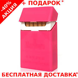 Коробка для сигарет портсигар кисет металлический в виде пачки сигарет DEDO