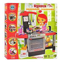 Большая детская кухня со звуком и светом  JOH 011