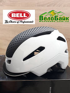 Велошолом Bell HUB S 52-56 білий/глянцевий