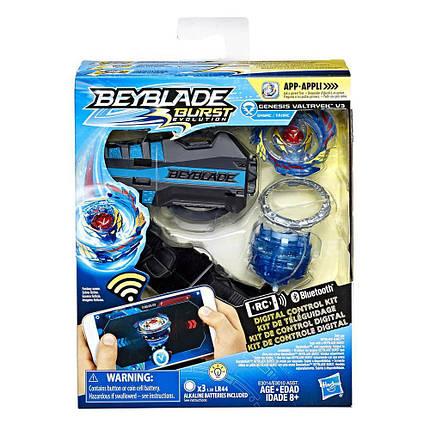 Цифровой волчок бейблейд Волтраек В3 Beyblade Burst Evolution Digital Control Kit Valtryek V3, фото 2