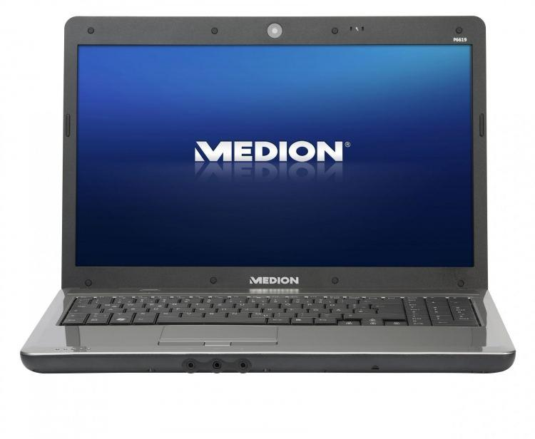 Ноутбук, notebook, Medion AKOYA P6619, 2 ядра по 2,1 ГГц, 2 Гб ОЗУ, HDD 320 Гб