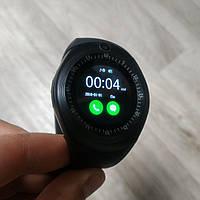 Умные часы телефон Smart Watch громкой связью черные, фото 1