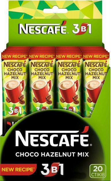 Кофейный Напиток Nescafe 3в1 Choco Hazelnut Mix (20x13 г)