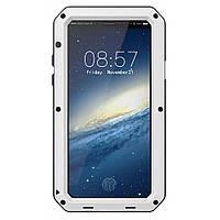 Чехол Lunatik Taktik Extreme для iPhone XS Белый (IGLTEXSW3)