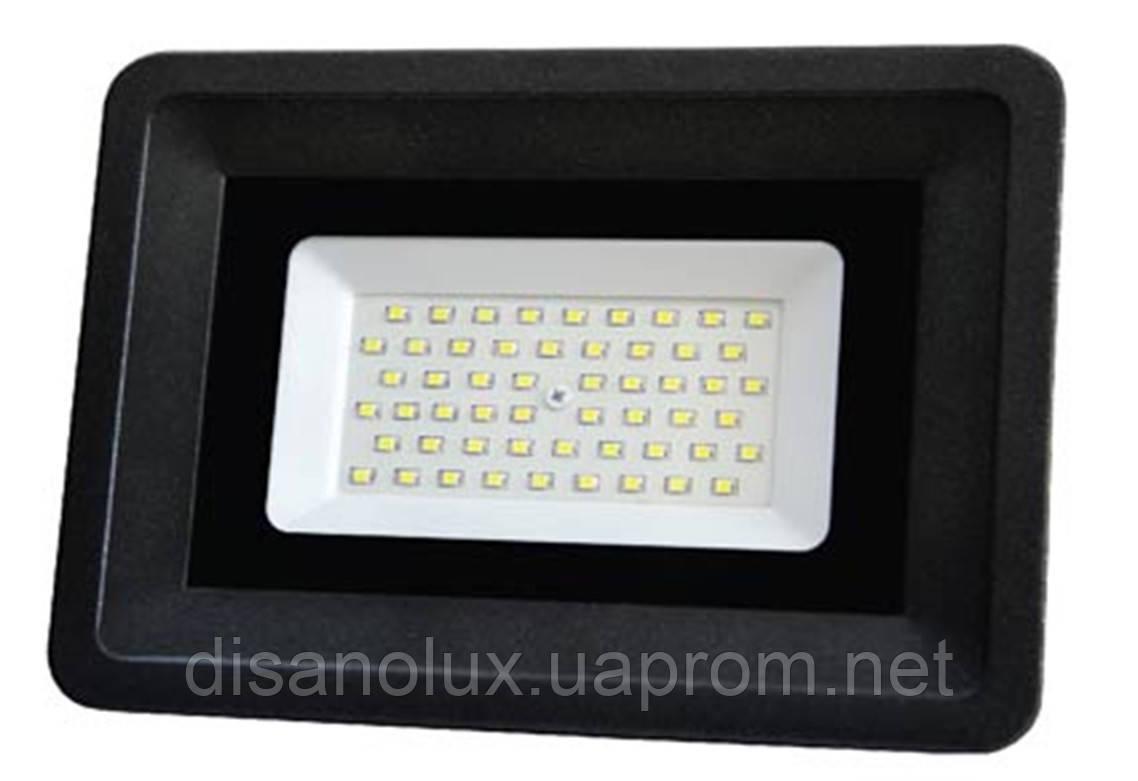 Светодиодный прожектор LED 50W 6000К SMD AVT3-IC 220в IP65