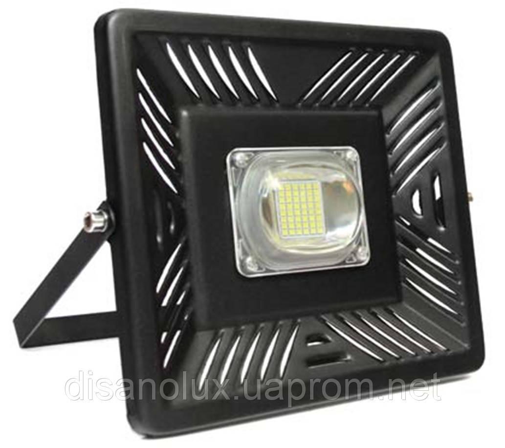 Прожектор LED  IC SMART  FL 50вт 6500K черный IP65