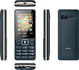 Телефон кнопочный на 2 сим карты с мощной батареей и функцией Powerbank Astro B245 синий, фото 4
