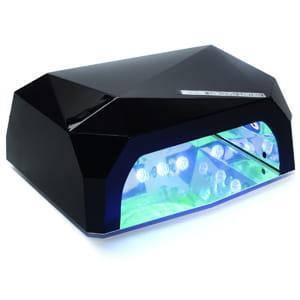 Лампа для сушіння нігтів LED+CCFL Diamond 36W (Чорна)