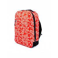 Рюкзак Punch Buzz Paisley Red, фото 1