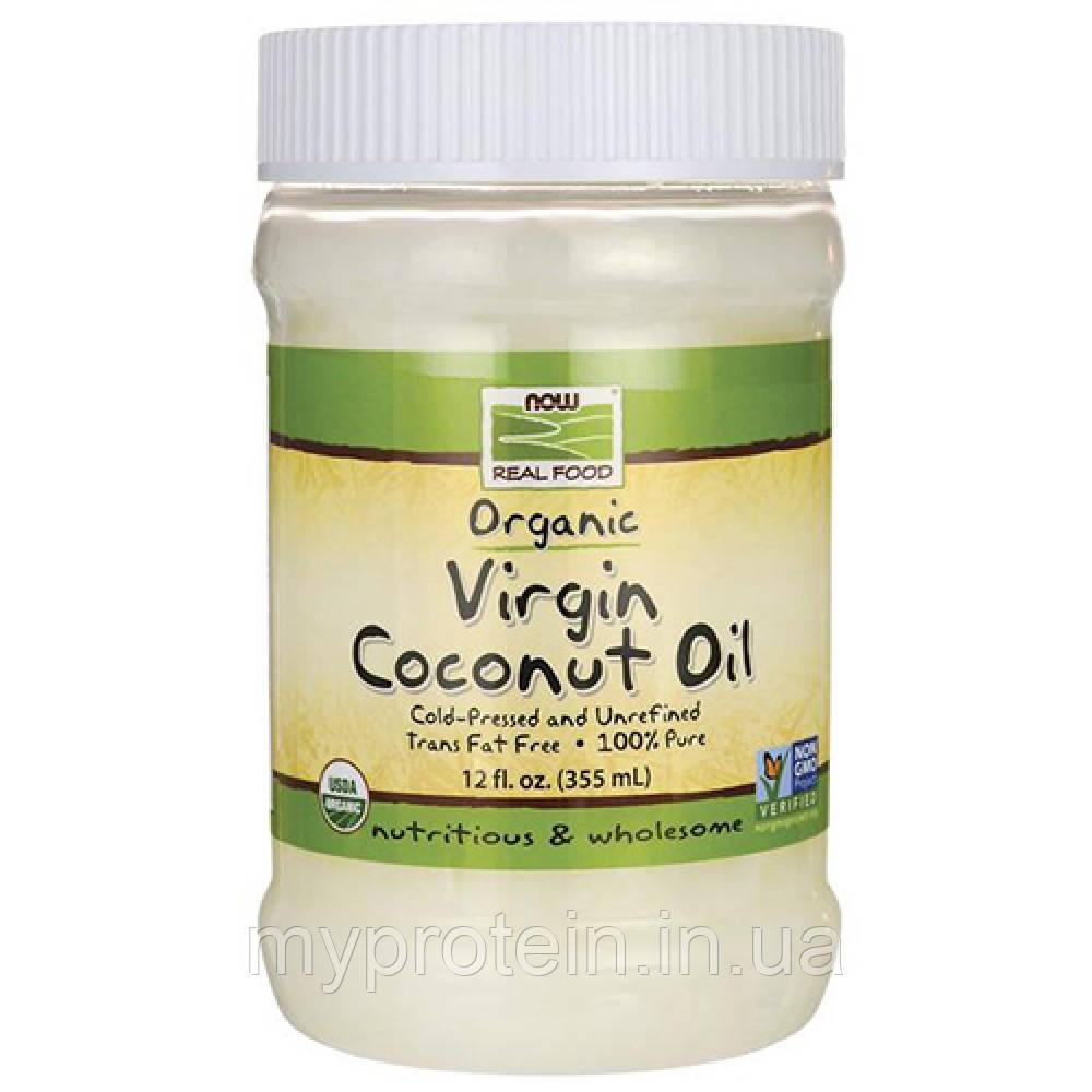 NOWОрганическое кокосовое маслоCoconut Oil Virgin organic355 ml