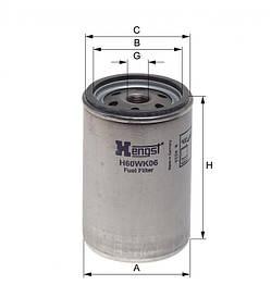 Паливний фільтр Hengst H60WK06
