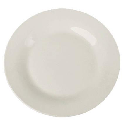 Тарелка Helios Белая мелкая 20 см 4412, фото 2