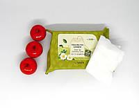 Косметические салфетки The Saem Healing Tea Garden Green Tea Cleansing Tissue